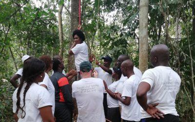 Trabajando en Costa de Marfil